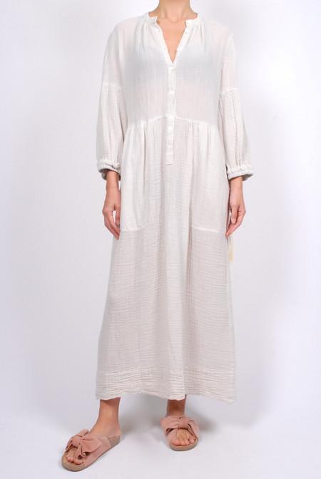 Raquel Allegra Peasant Dress Dirty White