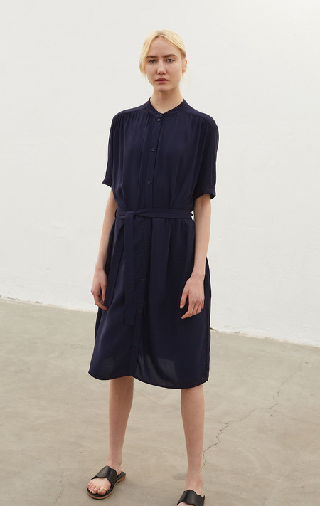 Rodebjer Marta Shirt Dress - Midnight