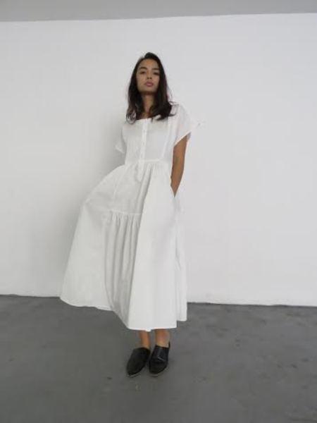 MARYAM NASSIR ZADEH FLORENZA DRESS - WHITE