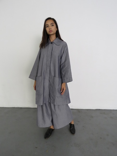 KOWTOW SEAFARER COAT - CHAMBRAY
