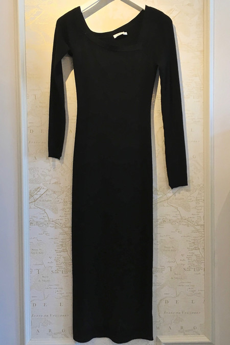 A.L.C. 'Brynn' Dress with Asymmetrical Neck
