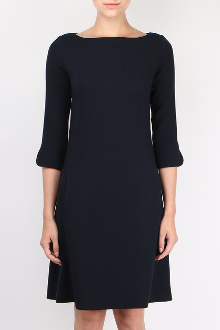 Antonelli Crepe 3/4 Sleeve Dress