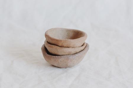 Julie Cloutier Ceramic Pinch Pot Set