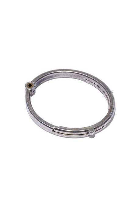 Giles & Brother Silver Oxide Latch Cuff