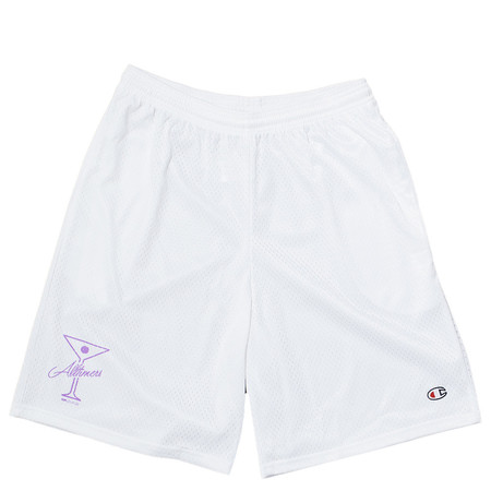 ALLTIMERS BALL FOREVER SHORTS - WHITE