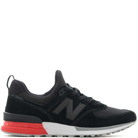NEW BALANCE MS574AB BLACK / RED