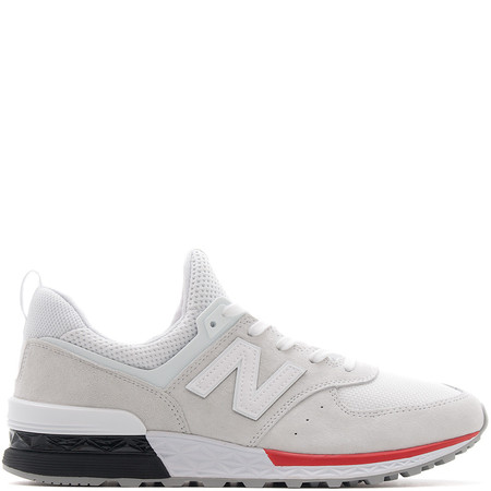 NEW BALANCE MS574AW WHITE / RED