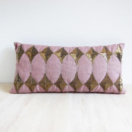 Day Birger Et Mikkelsen harlequin lumbar cushion - rose