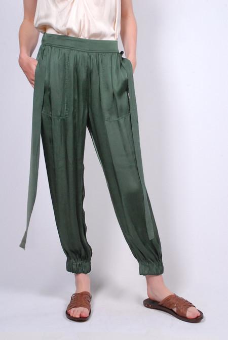 Raquel Allegra Deconstructed Tuxedo Pant Jade