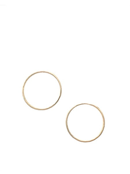 IGWT New Moon Earrings - Gold