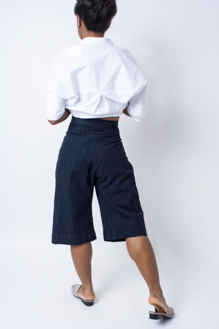 Ilana Kohn Boyd Shorts - Deep Indigo