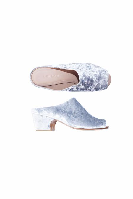 Rachel Comey Foster Slide - Silver Velvet