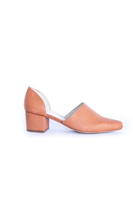 intentionally blank Perf Heel - Orange