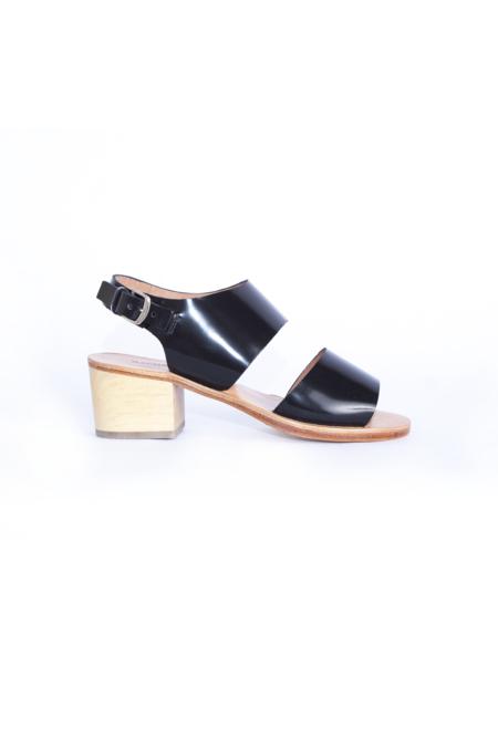 Rachel Comey Tulip Sandal - Black Satinado