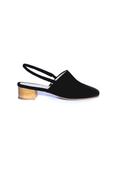 Anne Thomas Williamsburg Slingback - Black