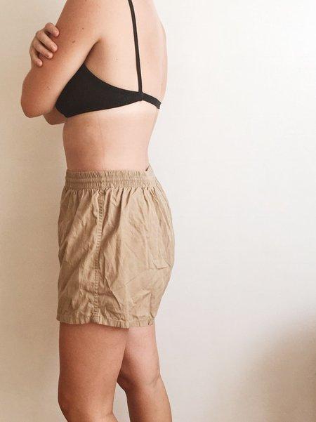 le Market Vintage Swim Shorts - Almond