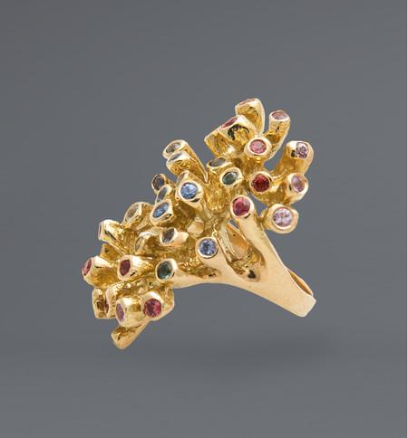 Kimberlin Brown Sea Anemone Ring