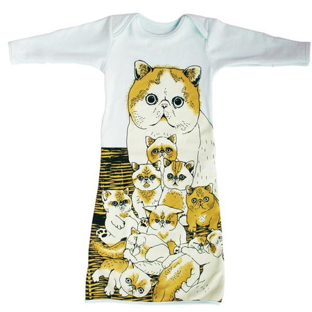 Kids Electrik Kidz PomPom Kitty Pocket Gown