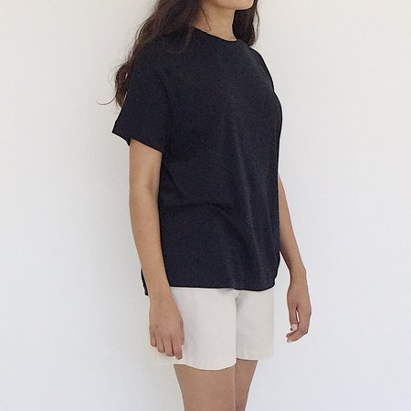 Johan Vintage Soft Black T-shirt