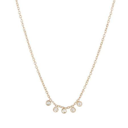 Ariel Gordon Mini Diamond Dash Necklace