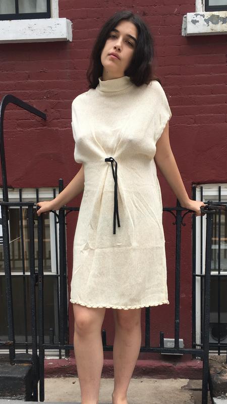 Alexa Stark Hemp Knit Tie Dress