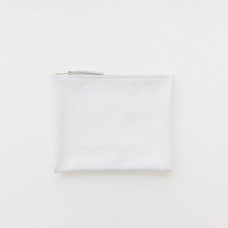 ARA Handbags White Clutch No. 3