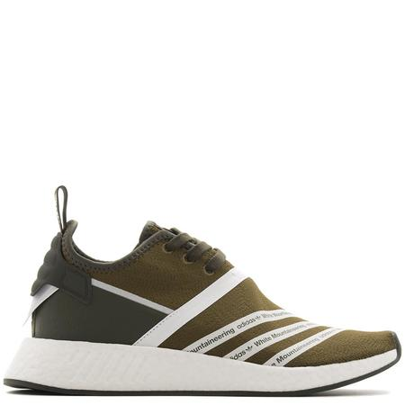 ADIDAS ORIGINALS BY WHITE MOUNTAINEERING NMD R2 PRIMEKNIT - TRACE OLIVE