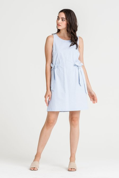 Lush Jude Chambray Dress