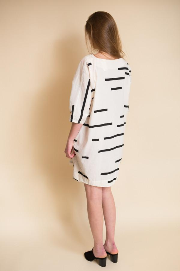 Uzi NYC Now Dress / Broken Stripe