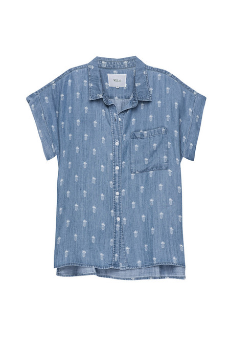 Rails Whitney Pineapple Button Down Shirt