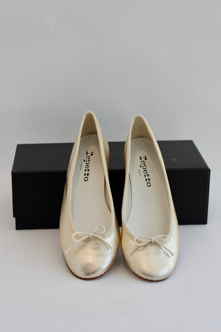 Repetto Shoes Repetto Metallic Ballet shoe