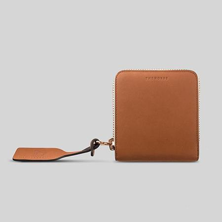 The Horse Mini Block Wallet - Tan