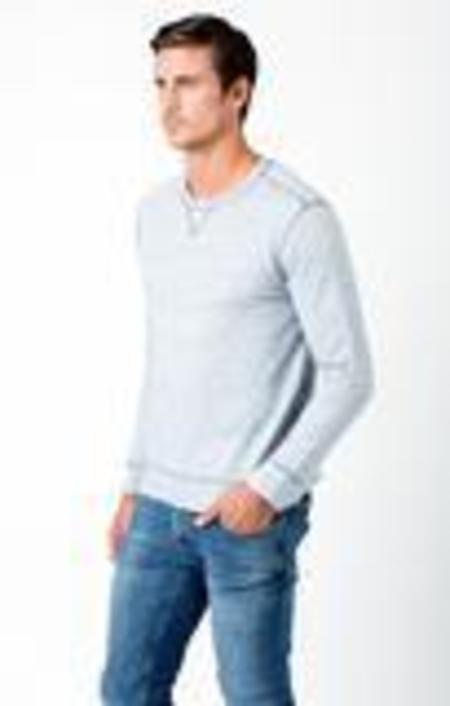 Sol Angeles Denim French Terry Pullover - Gray