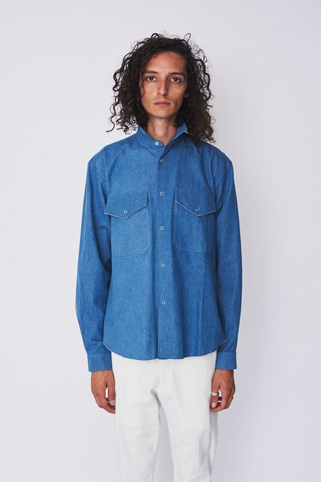 Assembly New York Denim Poet Shirt