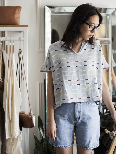 Ace & Jig Ojai Crop in Ivy