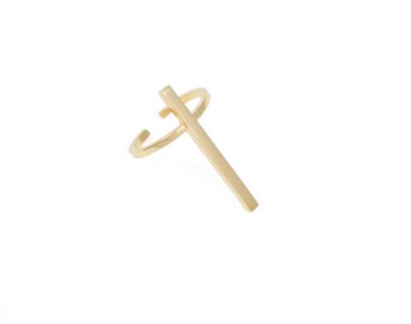 Schield Cross Ring