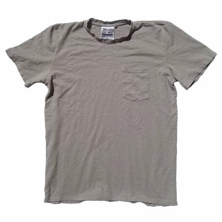 Jungmaven Baja Short Sleeve Pocket Tee 7oz - Stone Gray
