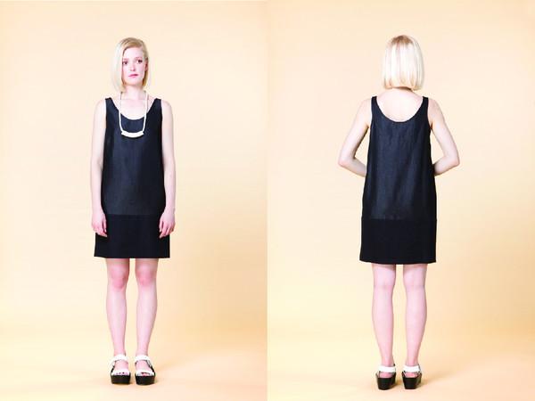 Amanda Moss Benny Dress Black