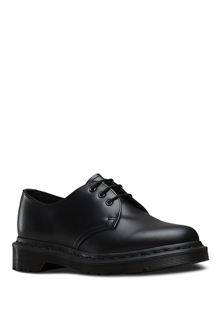 Unisex Dr. Martens Leather 1461 Lace-up Oxford - Black