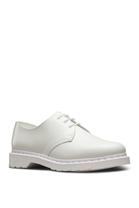 Dr. Martens Leather 1461 Lace-up Oxford - White