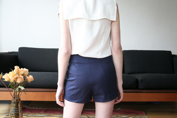 Betina Lou Lisa Shorts - Navy