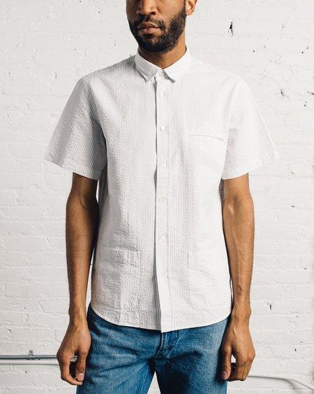 La Paz Castro Shirt - Grey Stripes
