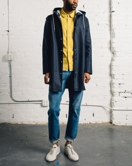 Stutterheim G̦teborg Raincoat, Navy