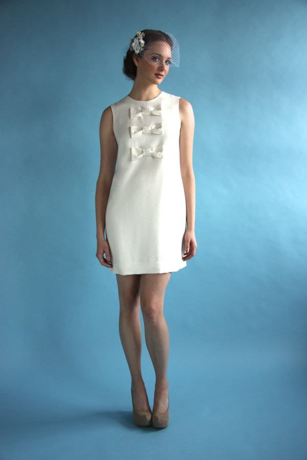 Birds Of North America Bridal Flutter Dress