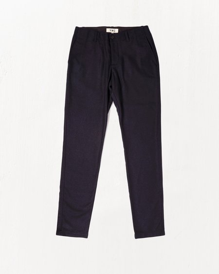 YMC Slim Fit Wool Flannel Trousers