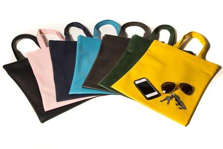 Fashion Rising Collection Vegan Leather Hand-Batik Shoppers