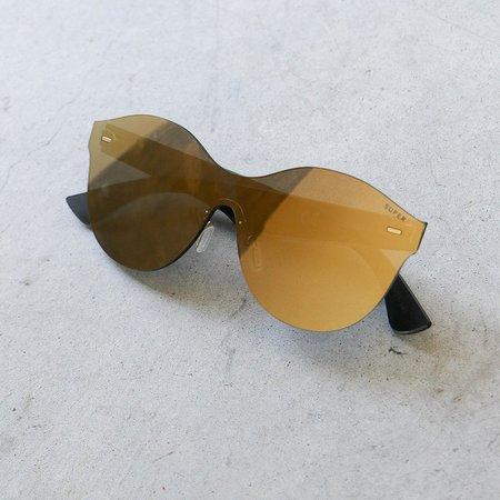 RetroSuperFuture Tuttolente Mona Sunglasses in Gold