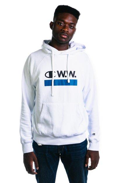 Champion x Wood Wood Hooded Sweat - Bright White