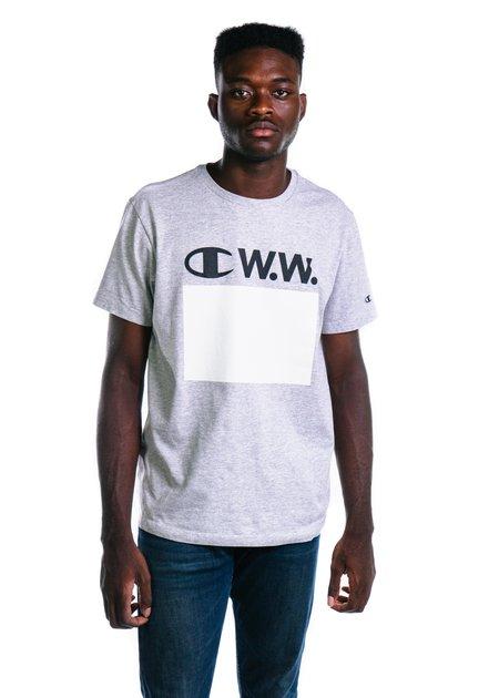 Champion x Wood Wood T-Shirt - Grey Melange