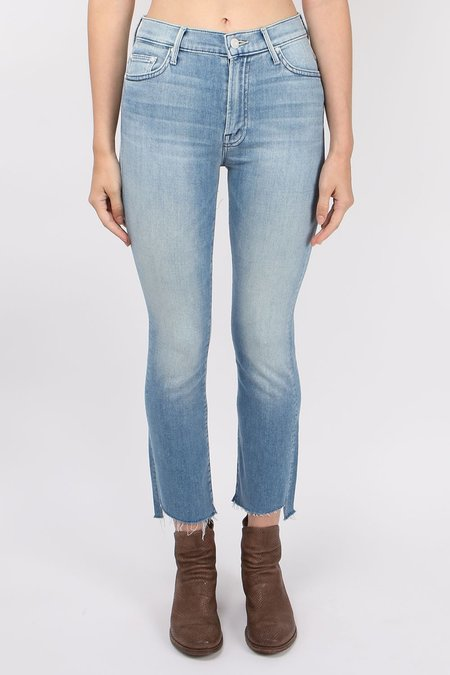 Mother Denim Insider Crop Two Step